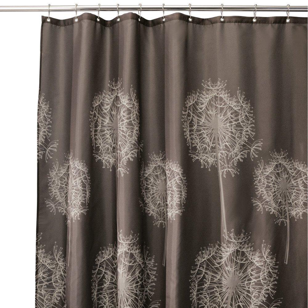 Amazon Com Interdesign Dandelion Shower Curtain X Inch