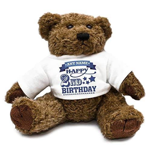 Personalised Add Your Own Name Age Birthday Teddy Bear Unique Gift Idea Kids Thank You