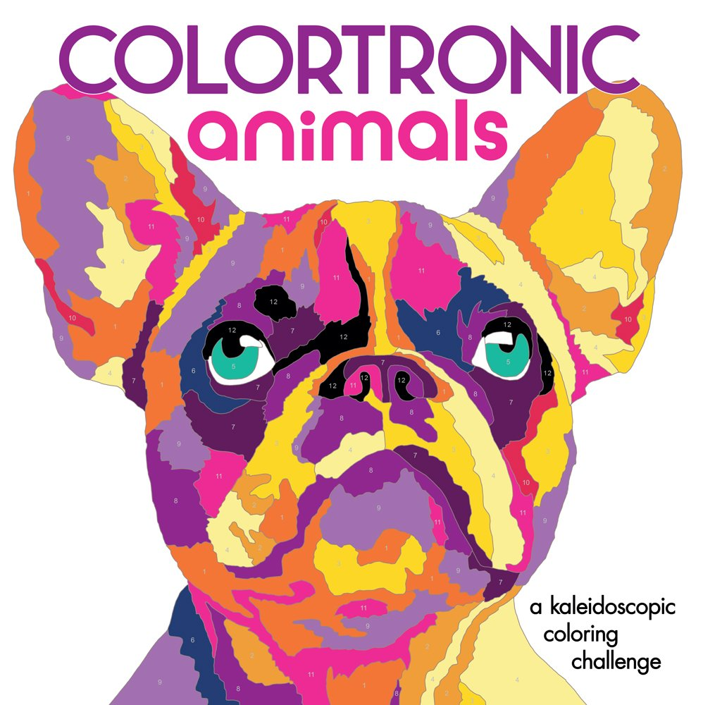 Colortronic Animals Kaleidoscopic Coloring Challenge product image