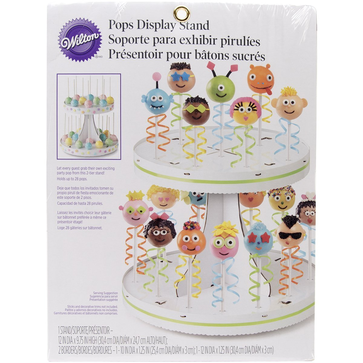 Wilton Two Tier Pops Stand