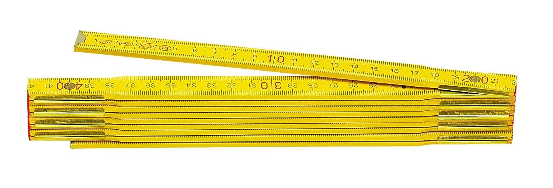 Metrica 23140 2m// 16 x 3mm Wood Red Graduation Yellow
