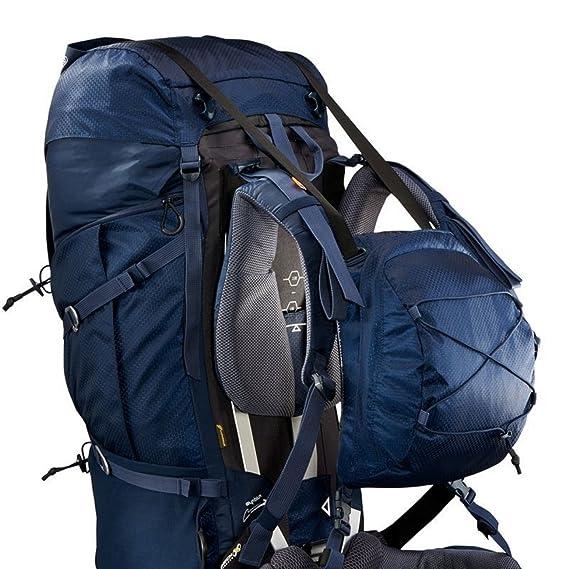 DECATHLON QUECHUA SYMBIUM 70 + 10L Multiday Trekking mochila azul oscuro: Amazon.es: Ropa y accesorios
