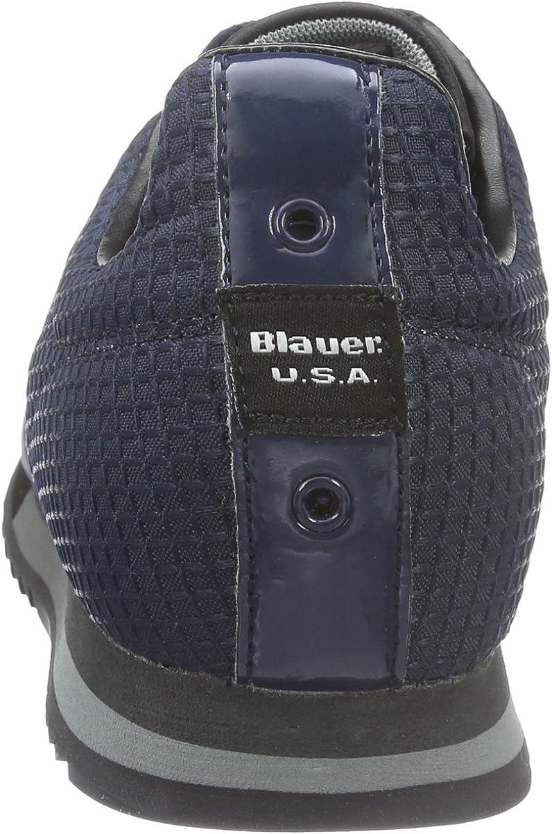 Blauer USA Newrun, Baskets Basses Homme: