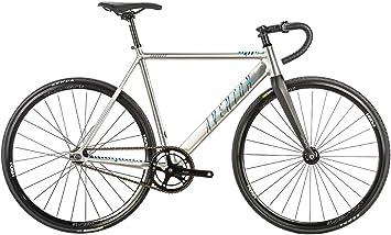 Aventon bicicleta fijación fijo Cordoba 2018 Silver brillante talla 58 ...