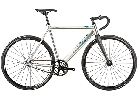 Aventon Bici Scatto Fisso Cordoba 2018 Silver Lucido Taglia 49cm