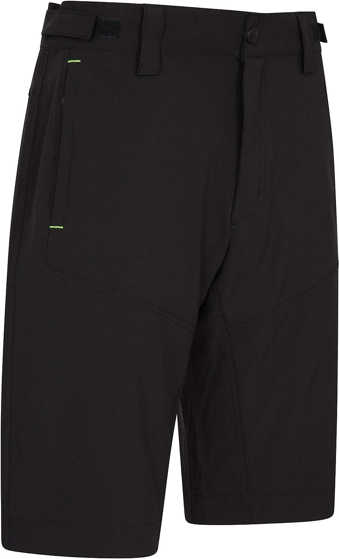 Antibacterial Underpants Breathable Tights Fast Dry Running Short Pants Lightweight Cycling Shorts Mountain Warehouse Ballard Men/'s Bike Shorts Padded Bike Shorts