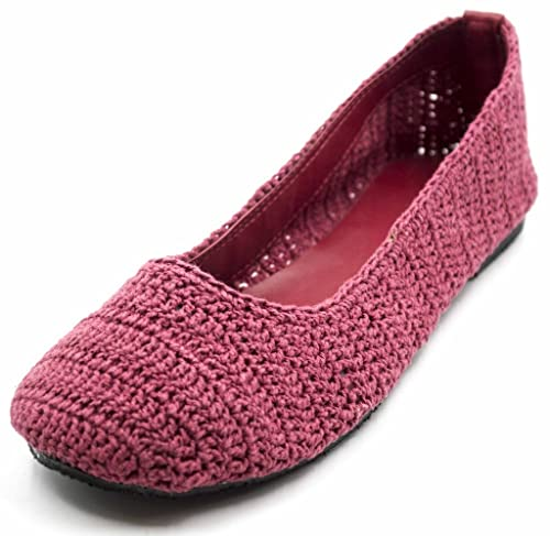 Amazoncom Orly Shoes Womens Colorful Lace Crochet Cut Out Ballet
