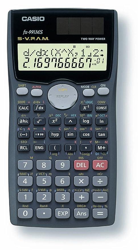 amazon com casio fx 991ms plus scientific calculator with 2 line rh amazon com casio calculator fx-991es user manual Casio FX- 85 GT