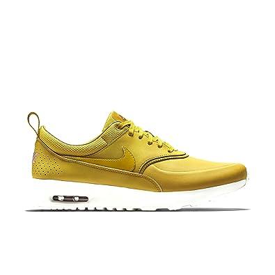 separation shoes 84305 efe4b ... Nike Air Max Thea Prm, Chaussures femme - jaune - citronier, ...