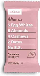product image for RXBAR, Chocolate Raspberry, Protein Bar, 1.83 Ounce (Pack of 12), High Protein Snack, Gluten Free