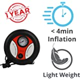 Blackcat Light Weight Emergency Air Compressor for All Cars and Bikes