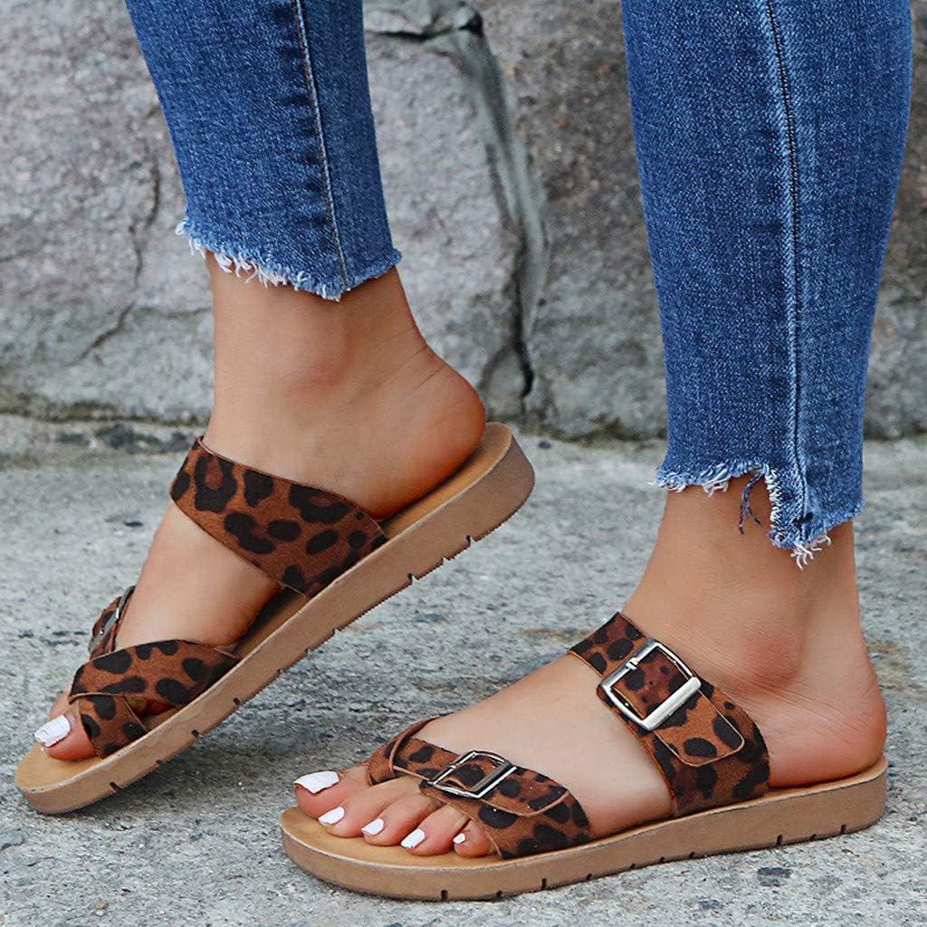 Hemlock Women Summer Slide Sandals Clips Toe Flats Slipper Shoes Ladies Beach Sandals Slipper Flip Flops