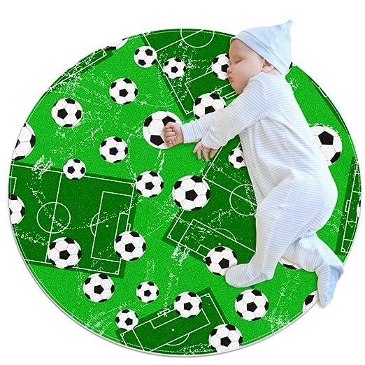 TIZORAX - Alfombra de Portero de fútbol y balón de fútbol, para ...