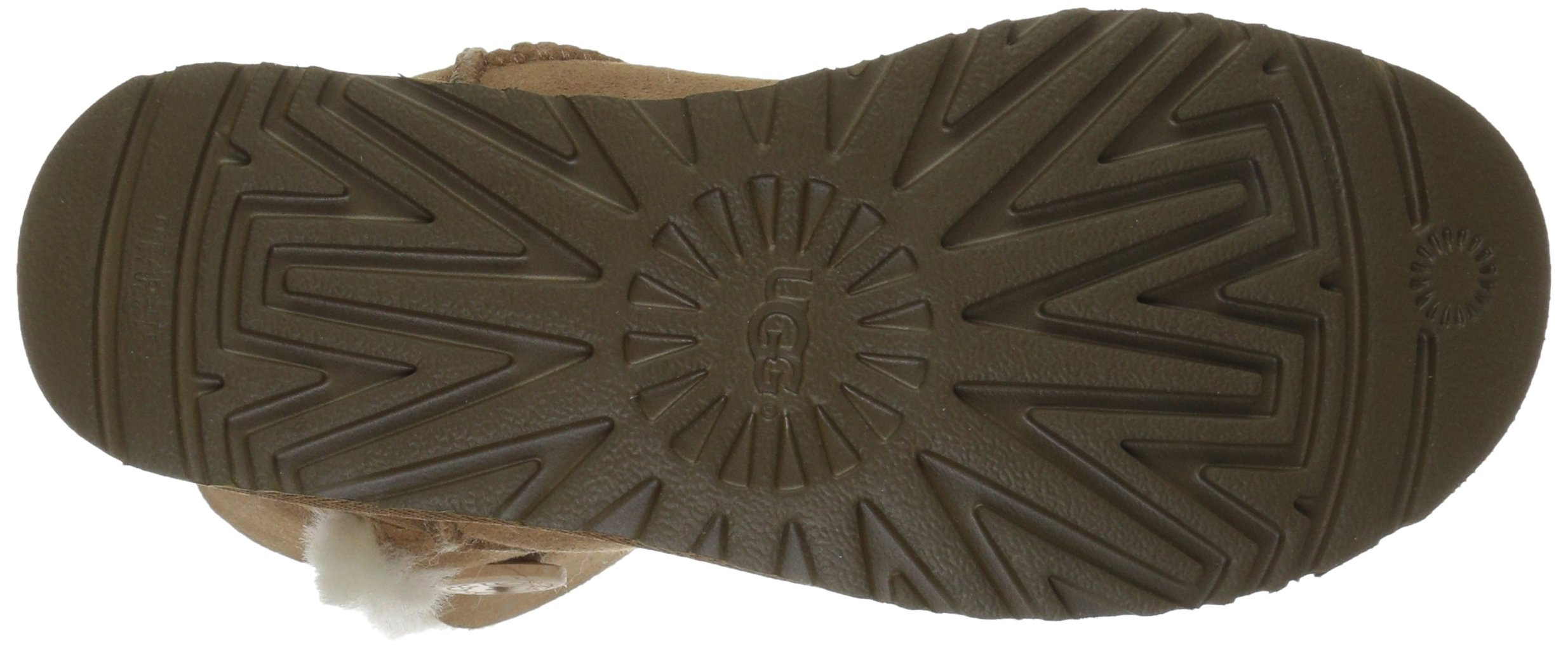 UGG Women's Bailey Button II Winter Boot, Chestnut, 8 B US by UGG (Image #3)