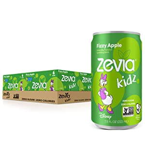 Zevia Zero Calorie Soda, Cola, 12 Ounce Cans (Pack of 24)