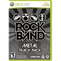 Rock Band: Metal Track Pack - Xbox 360 - Standard Edition
