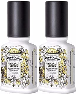 product image for Poo-Pourri, Before-You-Go Bathroom Spray, Original - 4 oz, 2 Pack