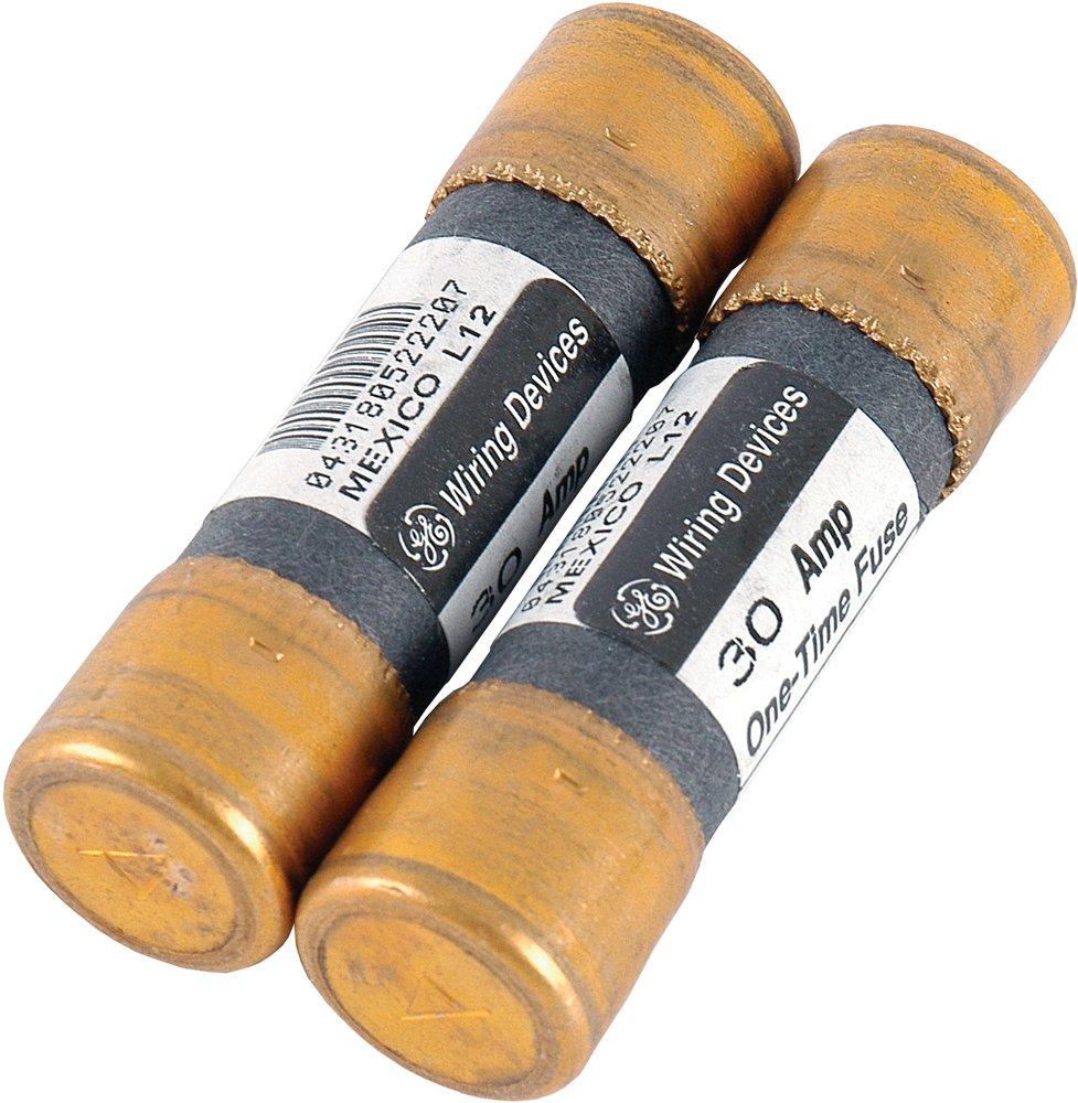 Power Gear 30-Amp Cartridge Fuses, 2-Pack, Femule Type, 30A, 250VAC, 54225