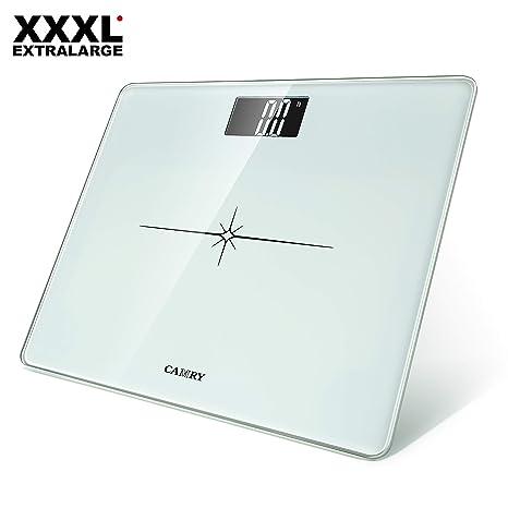 CAMRY Báscula de Baño Digital de Alta Medición Precisa 180kg/400lbs, Balanza Digital Baño