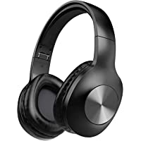 LETSCOM Bluetooth Headphones, 100 Hours Playtime Bluetooth 5.0 Headphones Over Ear with Deep Bass, Hi-Fi Sound and Soft…
