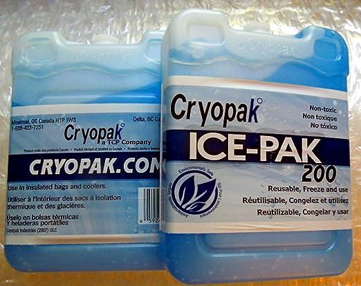 Cryopak ICE-PAK 200 - 2 pks