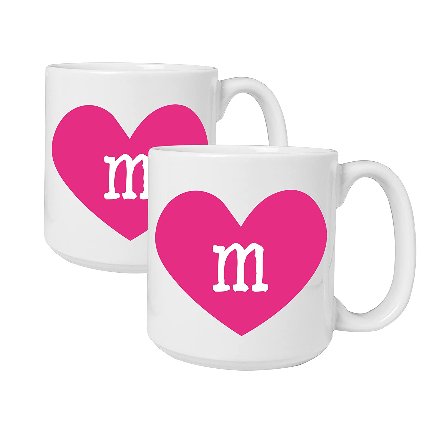 Amazon.com: Cathy\'s Concepts Personalized Heart of Love Large Coffee ...