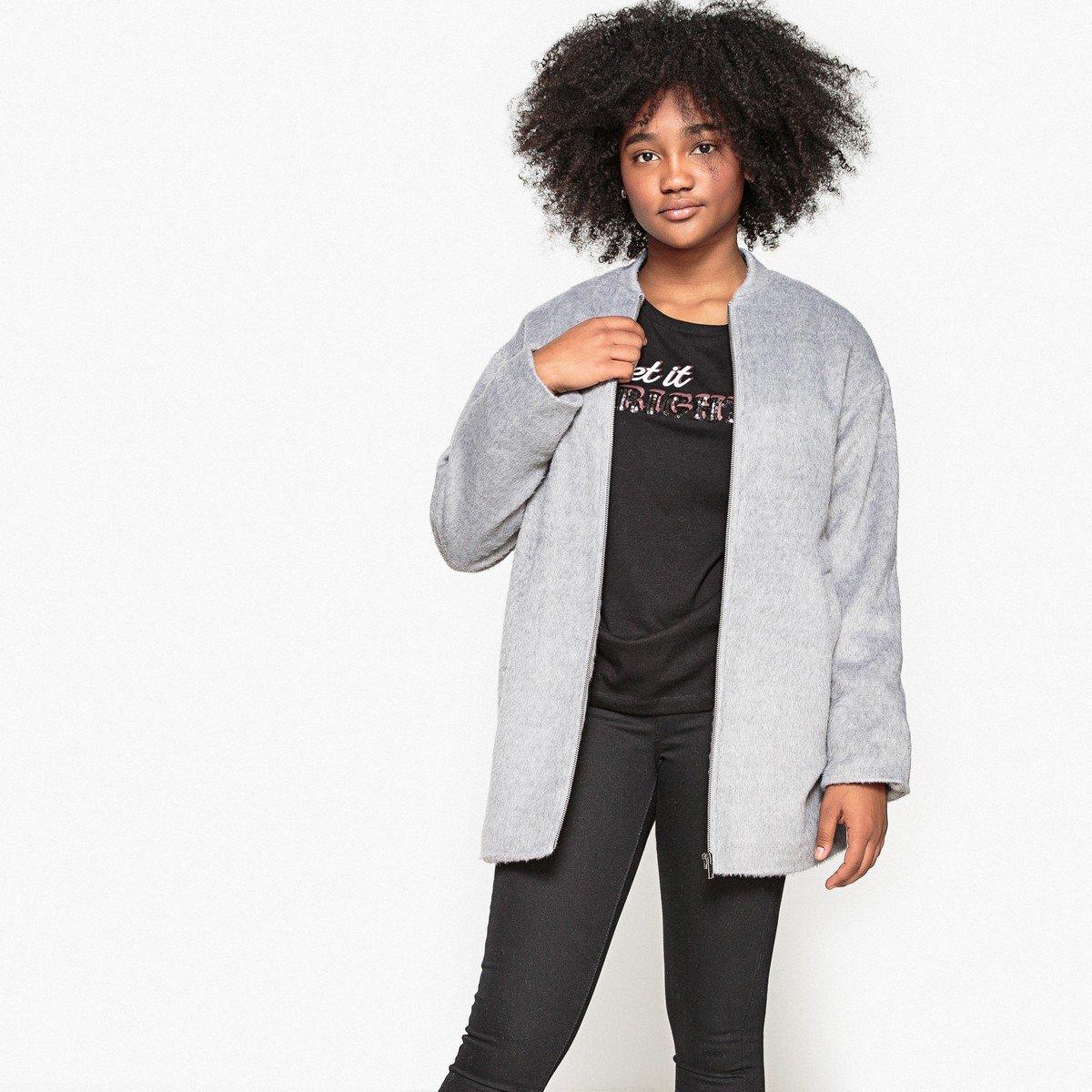 La Redoute Collections Big Girls Ovoid Coat 10-16 Years