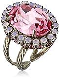 "Sorrelli  ""Sweetheart"" Glamorous Oval-Cut Crystal Ring"