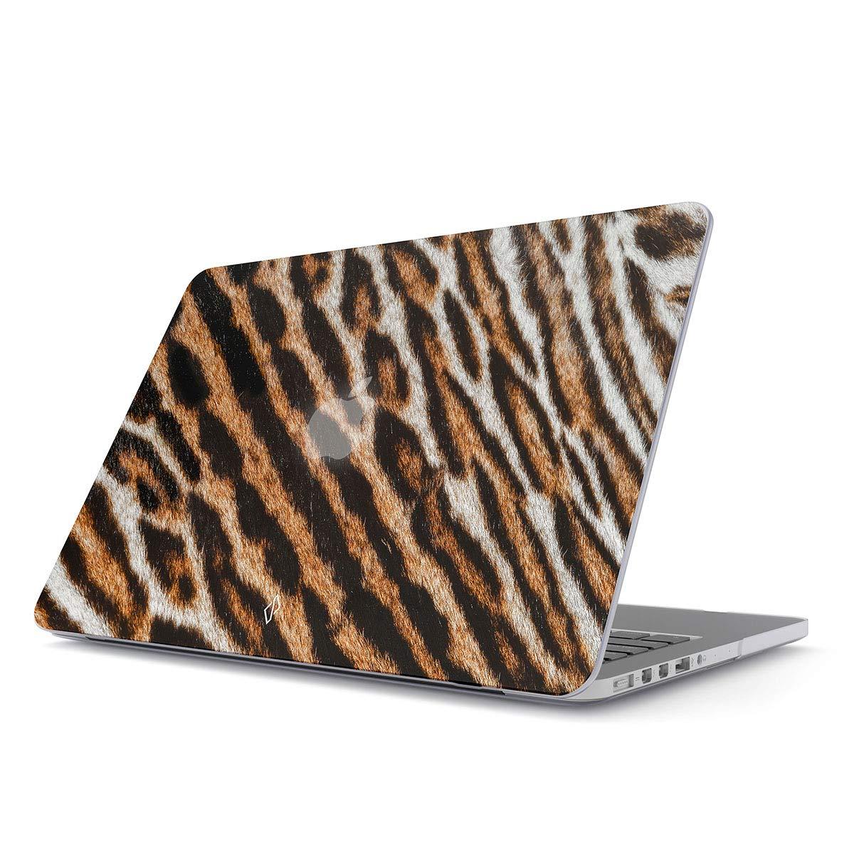 BURGA Funda para MacBook 12 Pulgadas, Modelo: A1534 con Retina Display Salvaje León Animales Wild Savage Lion Tiger Leopard Cheetah Dura Carcasa ...