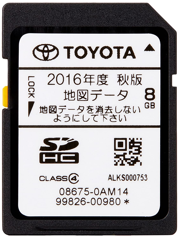 トヨタ(TOYOTA) トヨタ純正 ナビゲーション用 地図更新SDカード 全国版 08675-0AM15 B01N0C7Z7T