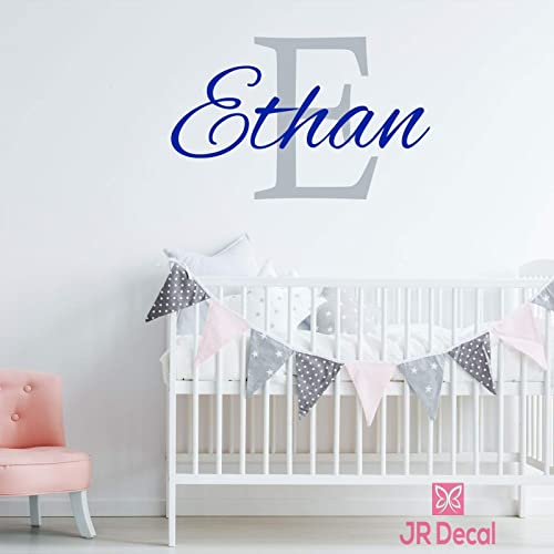 metal walls plastic doors Personalised Rose Gold name stickers for glass