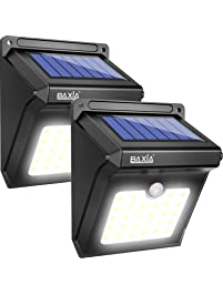 Flood lights amazon lighting ceiling fans outdoor lighting baxia technology led solar lights outdoor aloadofball Image collections