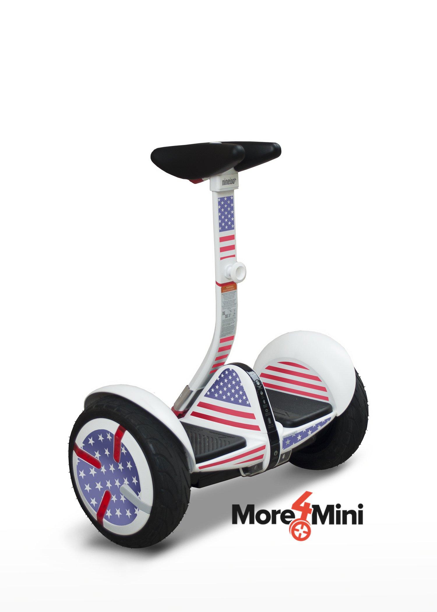 More4Mini Kit for Segway Mini Pro - US Flag (Does not Include Segway MiniPro)