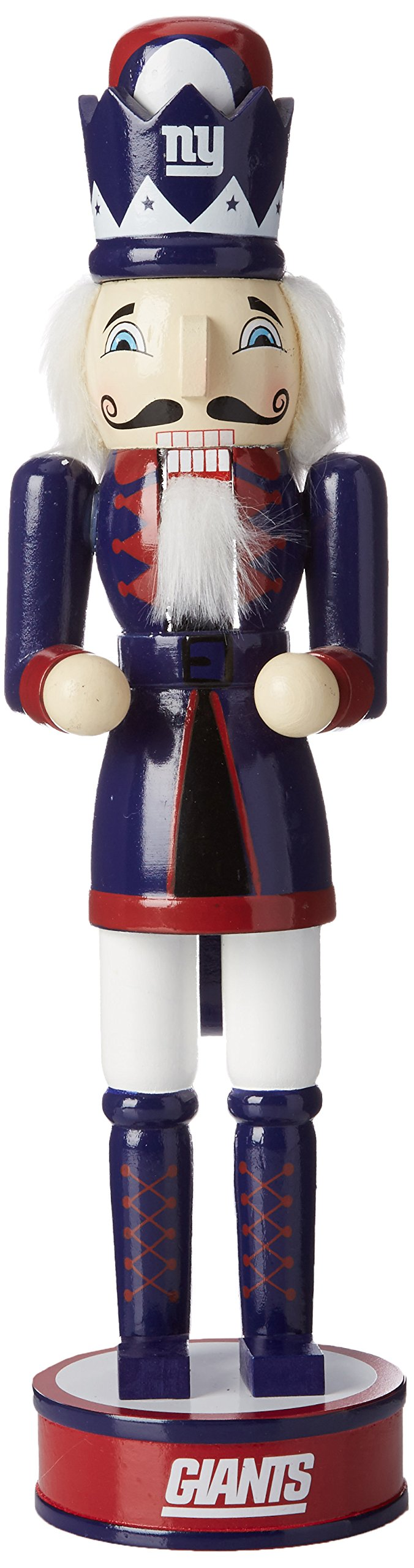 FOCO New York Giants 14'' Holiday Nutcracker by FOCO
