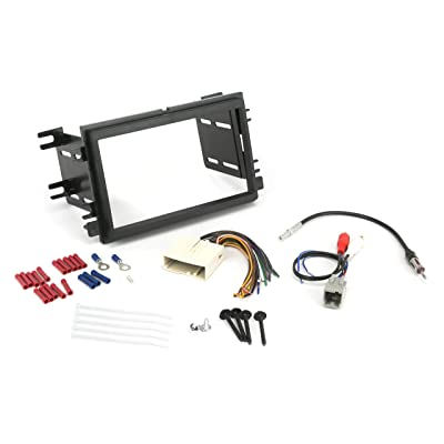 Install Centric ICFD6BN Ford/Lincoln/Mercury 2004-08 Double DIN, Premium Sound Complete Installation Solution for Car Stereos: Car Electronics