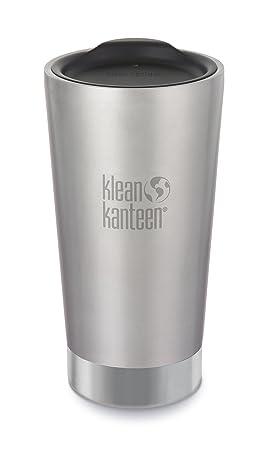 Klean Kanteen 146024007 - Vaso térmico de Acero Inoxidable, 473 ml