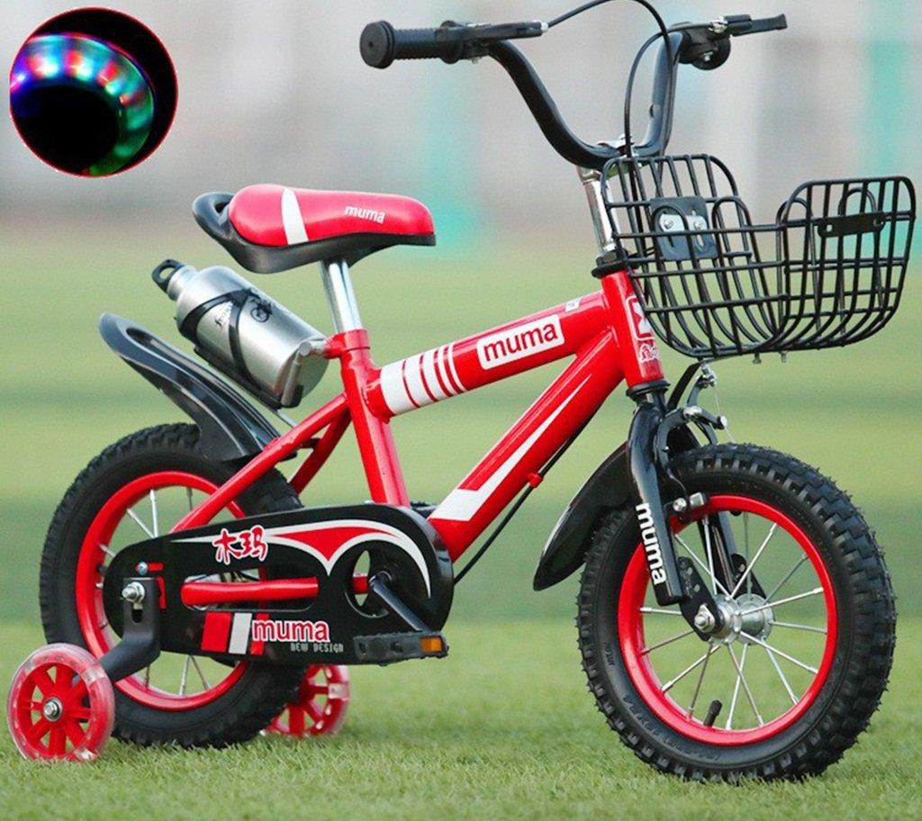 子供の自転車、男の子の自転車の女の子クリエイティブ自転車のマウンテンバイクは、ショックの安全自転車の足首の自転車の長さを減らす88-115CM (色 : 赤, サイズ さいず : 88CM) B07D2FWVLP 88CM|赤 赤 88CM
