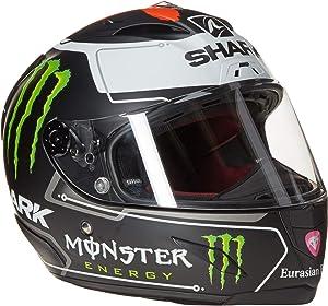 Shark Unisex-Adult Full Face Race-R Pro Helmet (Lorenzo, Small)