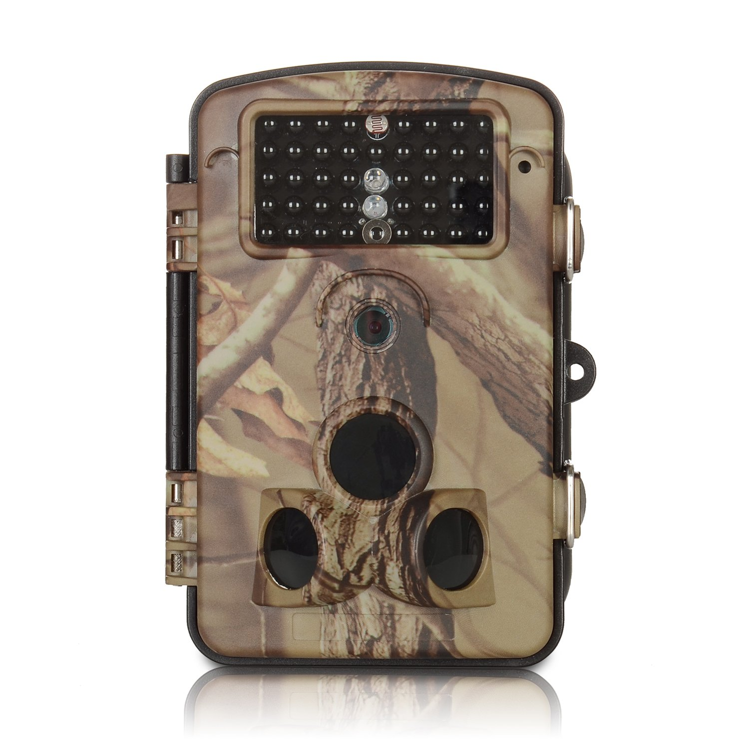 ANNKE C303 HD 720p Game and Trail Camera with IR Night Vision LEDs, Wide Angle Lens, 2.4-Inch LCD Display, and Weatherproof Housing by ANNKE