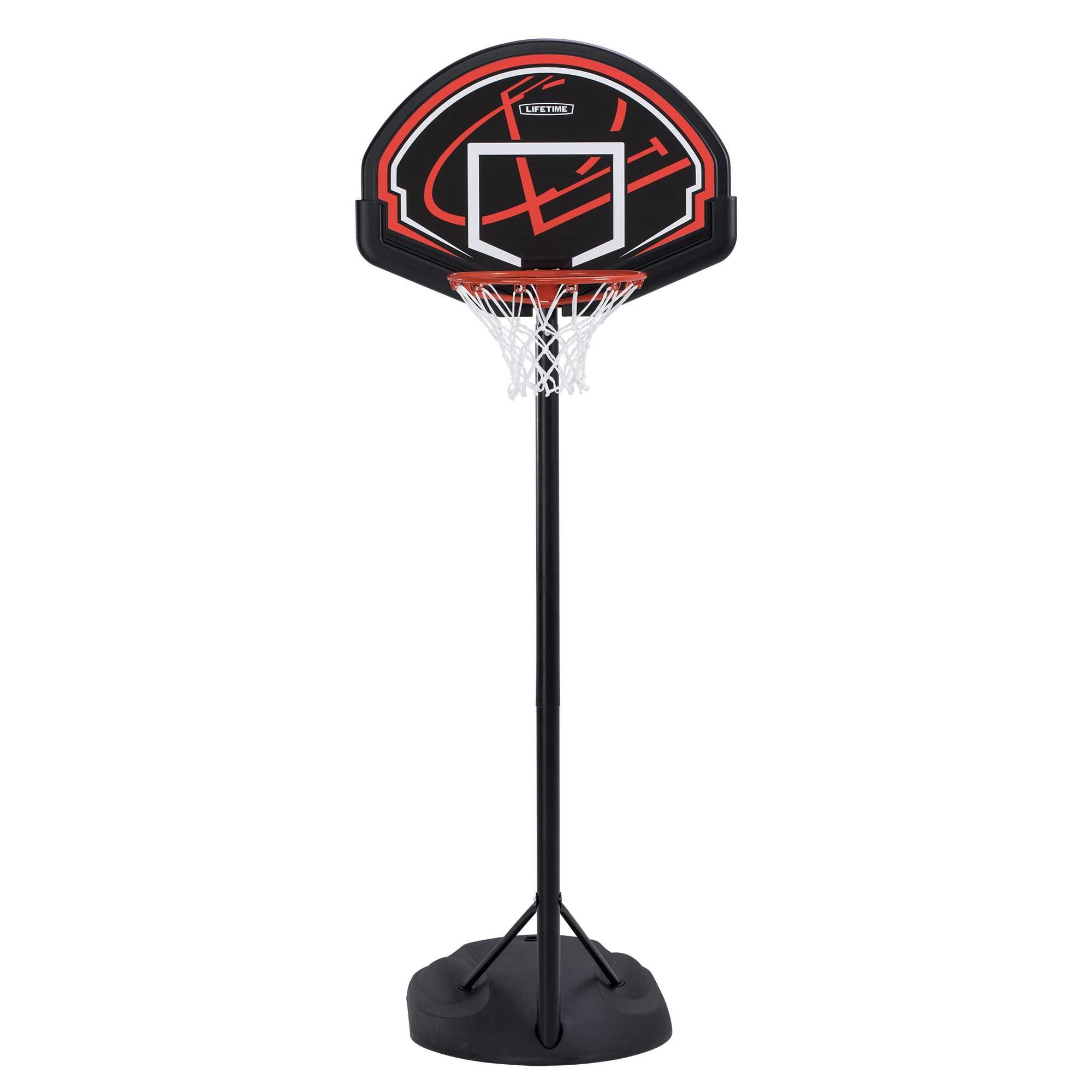 Lifetime 90022 Youth Height Adjustable Portable Basketball System