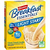 Carnation Breakfast Essentials Light Start Powder Drink Mix, Classic French Vanilla, 8 Packets (Pack of 8 Boxes…