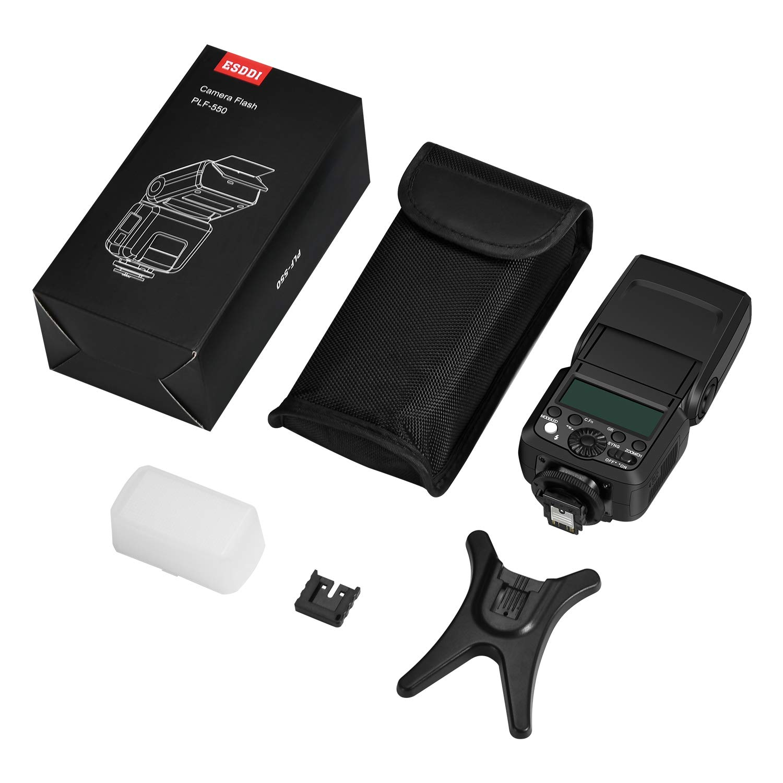 ESDDI Camera Flash for Sony A6000 A7III Speedlight HSS 1/8000s TTL ...