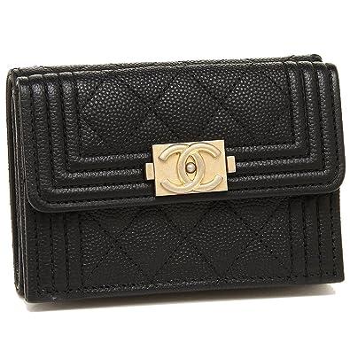 quality design 376c5 7acdf Amazon | [シャネル] 折財布 レディース CHANEL A84432 Y33262 ...