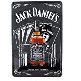 12x8 Inches Pub,bar,beverage,beer Series Wall Decor Hanging Metal Tin Sign Plaque (JACKS ARE BETTER.)