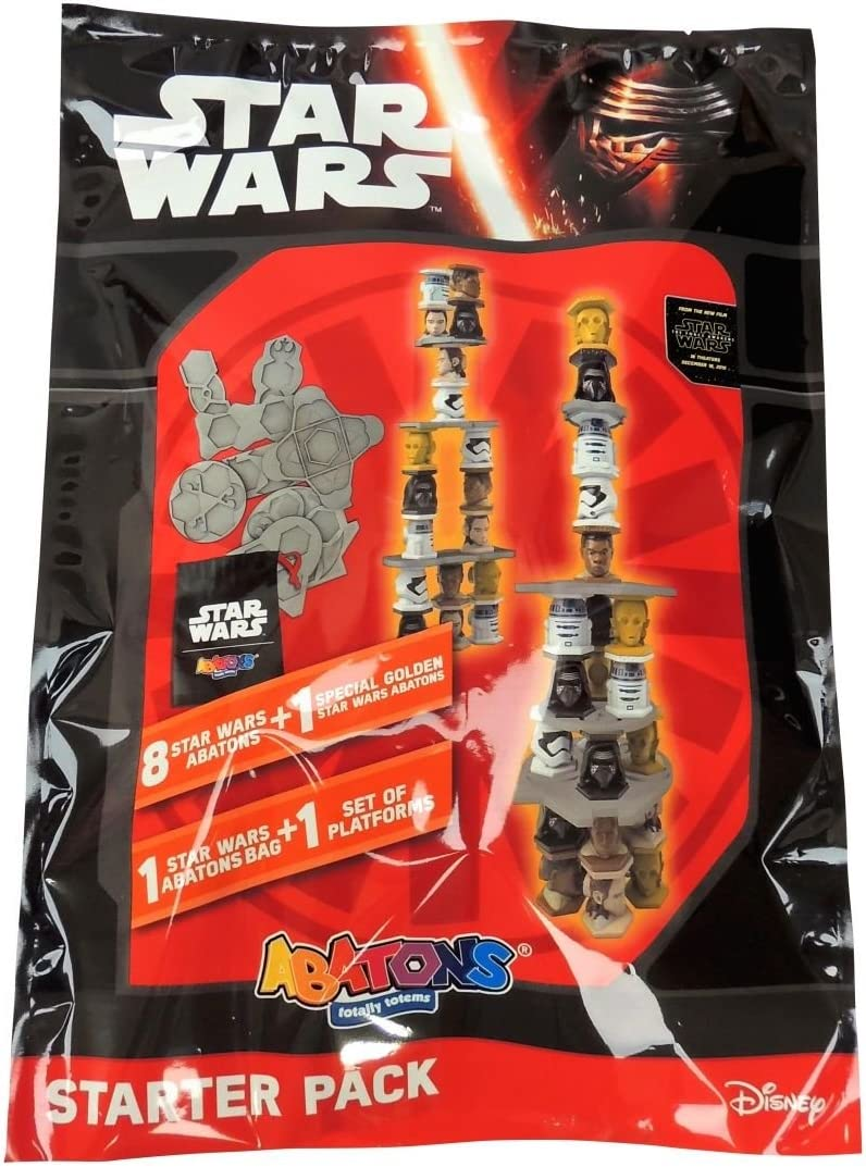 Panini Star Wars - Starter Pack Abatons 003037SPAINT: Amazon.es ...