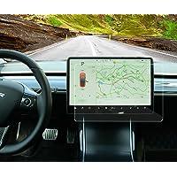 Tesla Model 3 kontrolowany ochraniacz ekranu ze szkła hartowanego ochraniacz ekranu dotykowego, 9H odporny na…