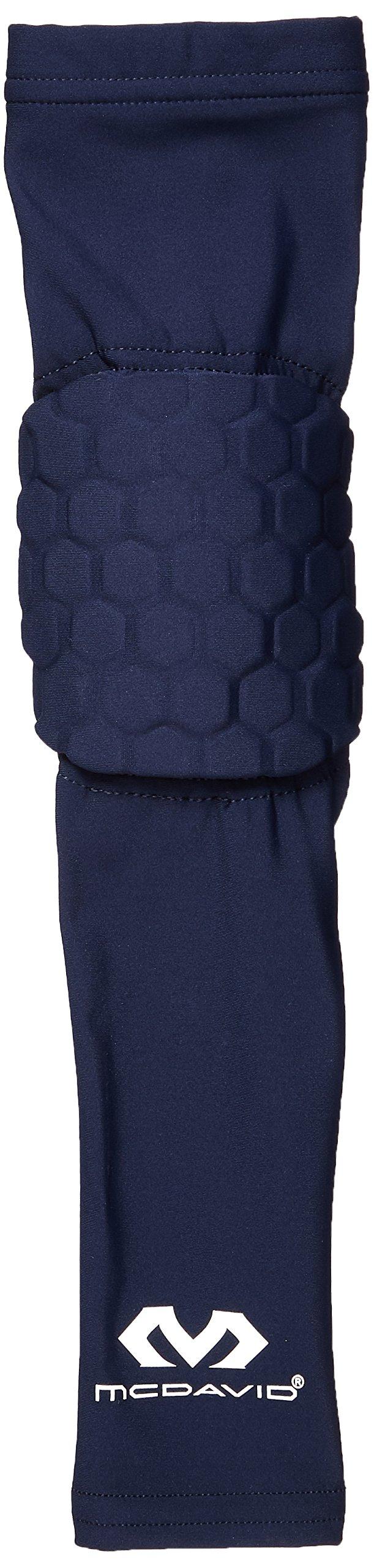 McDavid Single Hex Shooter Arm Sleeve, X-Small, Royal
