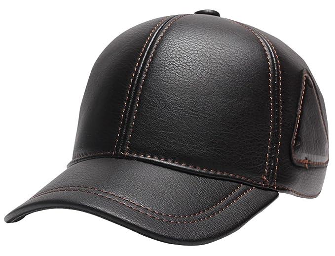 Panegy - Sombrero Invierno con Orejera Earflap para Hombre Gorro Gorra  Sombrero de Aviador Piloto Felpa Caliente - Negro  Amazon.es  Ropa y  accesorios b1fa364b4fc