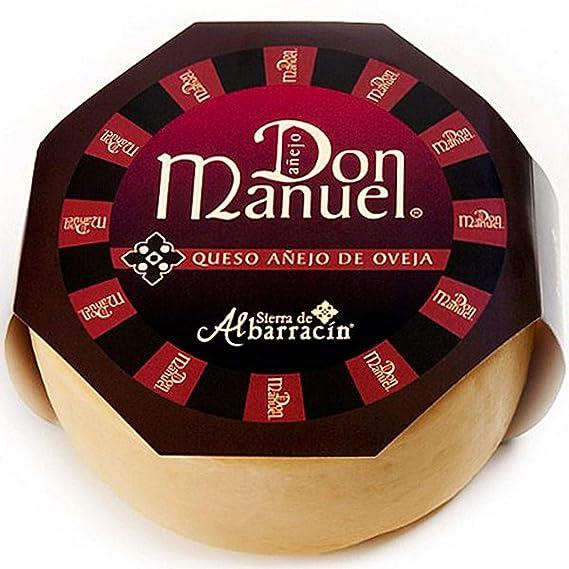 Queso Oveja Añejo Don Manuel app. 2,7 kg. - Sierra de ...