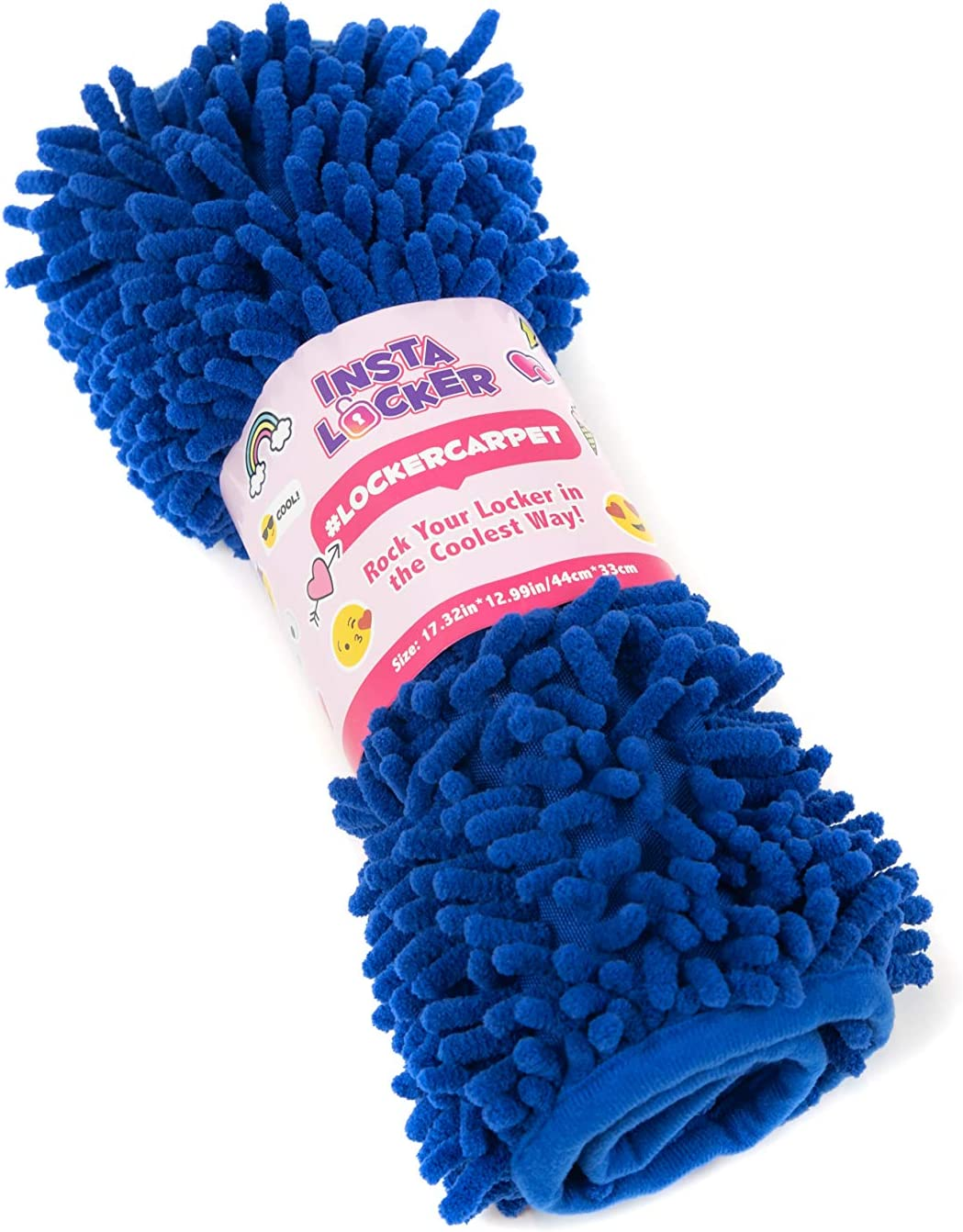InstaLocker School Locker Decorations Carpet - Locker Rugs for Girls - 100% Microfiber, Shaggy Style Locker Rugs - 11.5